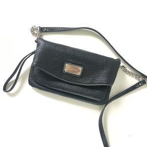 Nine West Faux Pebbled Leather Crossbody Bag